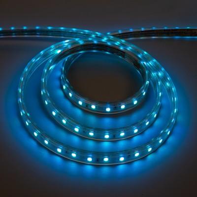 Светодиодная лента Ecola, 220 В, SMD5050, 50 м, IP68, 60Led/м, 14.4 Вт/м, RGB