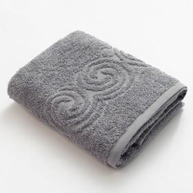 Полотенце махровое LoveLife «Border» 50х90, цвет серый