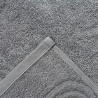 Полотенце махровое LoveLife «Border» 50х90, цвет серый - Фото 3