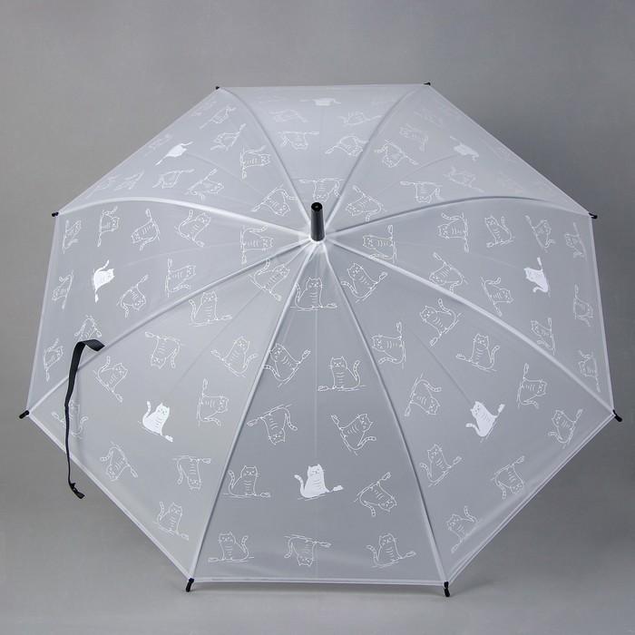 Детский зонт «Чёрно-белые кошки» 92 × 92 × 75,5 см, МИКС