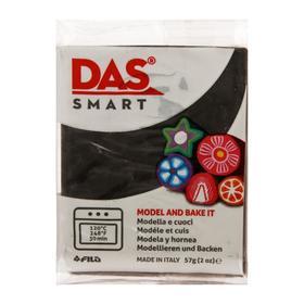 Полимерная паста для моделирования 57 г, черная, DAS SMART Ош