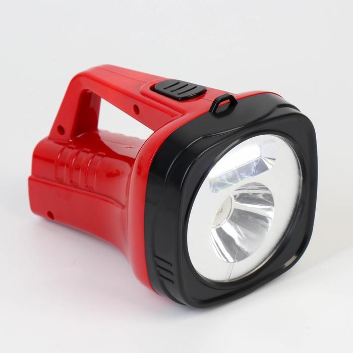 Фонарь-прожектор аккумуляторный, 11 х 18 см, от сети 220 Вт, микс