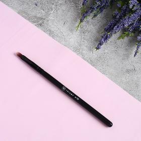 Кисть для макияжа, 13,5 см, цвет чёрный