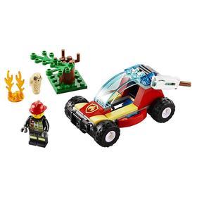 Конструктор Lego City «Лесные пожарные»