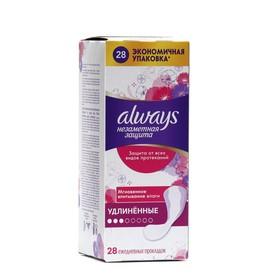 Ежедневные гигиенические прокладки Always Duo «Незаметная защита», удлиненные, ароматизированные, 28 шт.