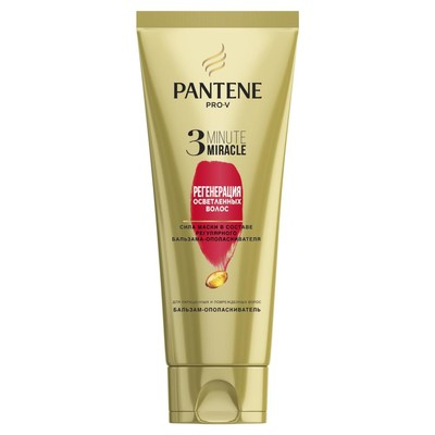 Бальзам-ополаскиватель для волос Pantene 3 Minute Miracle, 200 мл - Фото 1