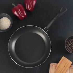 Сковорода Белая калитва «Классика атлас», d=24 см