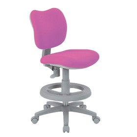 Кресло Rifforma-21 KIDS CHAIR Розовый/Серый Ош
