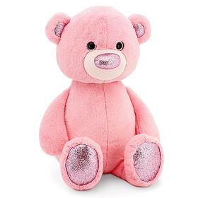 Мягкая игрушка «Медвежонок», цвет розовый, 22 см