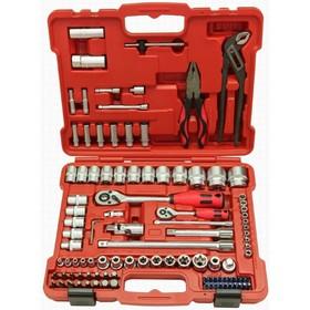 "Набор инструментов Perfect Tools PT-S4105A-BS1, 1/4"",1/2"", 105 предметов"