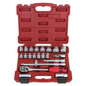 """Набор инструментов Perfect Tools PT-S422B-BS1, 1/2"""", 22 предмета"""