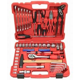 """Набор инструментов Perfect Tools PT-T469C-BS1, 1/2"""", 1/4"""", 69 предметов"""