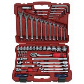 "Набор инструментов Perfect Tools PT-T495A-BS1, 1/2"", 1/4"", 95 предметов"