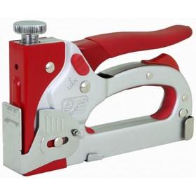 Степлер мебельный Perfect Tools RS-STG132D, скобы №53, регулируемый