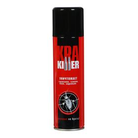 Аэрозоль от ползающих насекомых 'KRA Killer' Дихлофос, 230 мл Ош