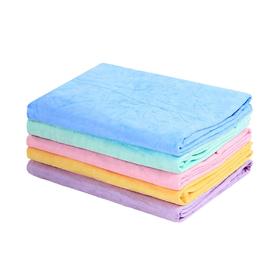 Мокрое полотенце Crazy Liberty впитывающее, PVA, 66 х 43 х 0,2 см, розовое Ош