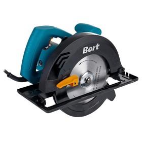 Пила циркулярная Bort BHK-185U, 1250 Вт, 6000 об/мин, 185х20 мм, пропил 64 мм, ±45°