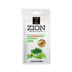 Ионитный субстрат ZION для выращивания зелени (зеленых культур), 30г. Ош