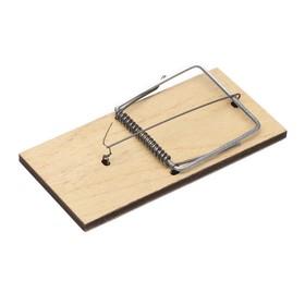 Крысоловка, 15 × 7,5 см, деревянная Ош