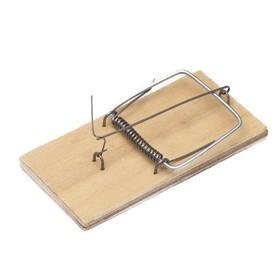 Мышеловка, 10,5 × 7,5 см, деревянная