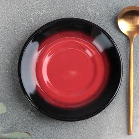 Блюдце универсальное малое «Rosa rossa», d=10,5 см