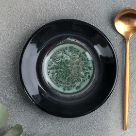 Блюдце универсальное малое Verde notte, d=10,5 см