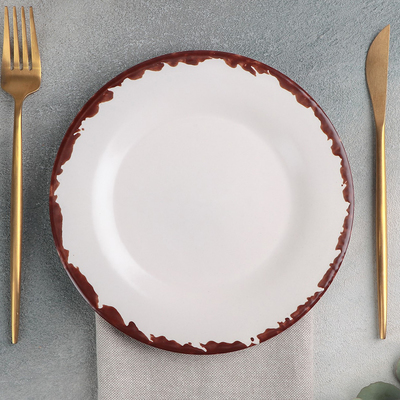 Тарелка «Antica perla», d=20 см - Фото 1