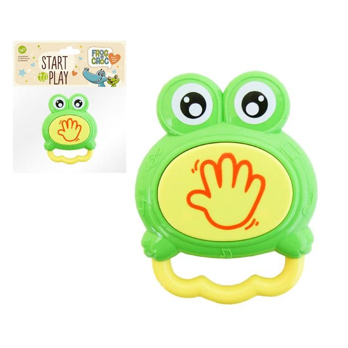Барабанчик для малышей «Озорной лягушонок»
