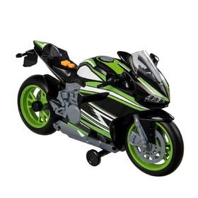 Игрушка Teamsterz «Мотоцикл», цвет чёрный