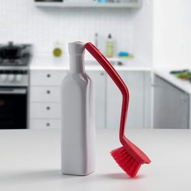 Щетка для посуды жесткая, цвет МИКС Ош