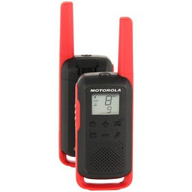 Рация Motorola TALKABOUT T62, 2 штуки, красная