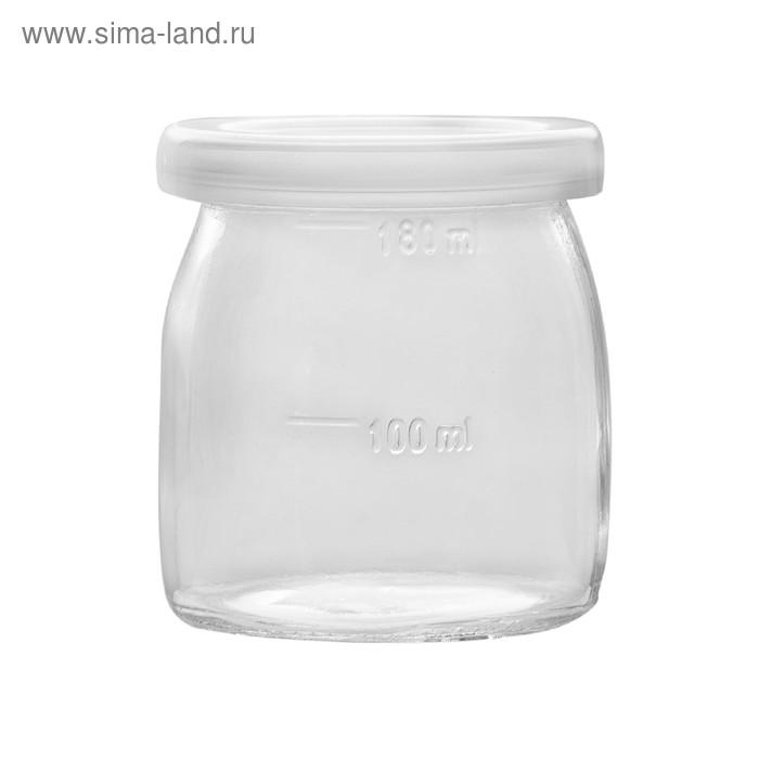 Йогуртница Kitfort КТ-2006, 20 Вт, 4х0.2 л, пластик, бело-зелёная