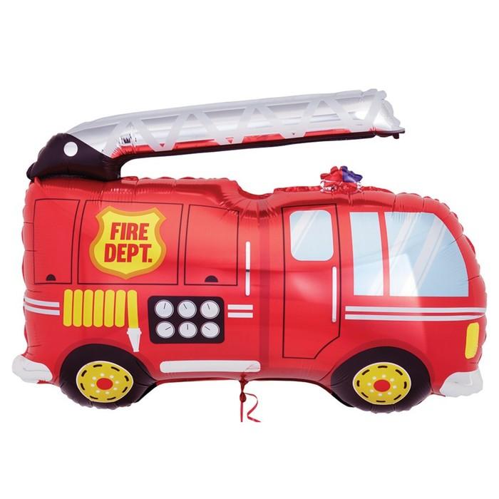 Шар фольгированный 16 Пожарная машина