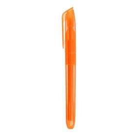 Маркер-текстовыделитель скошенный 5 мм, оранжевый Ош