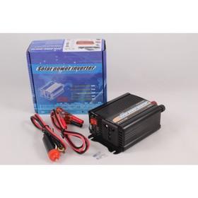 Инвертор 12/220 В KS-A12-300 Вт, от прикуривателя + напрямую от АКБ, USB разъем, запасной предохранитель Ош