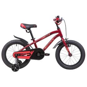 """Велосипед 16"""" Novatrack Prime, 2019, цвет коричневый"""