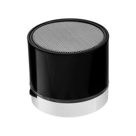 Портативная колонка LuazON Hi-Tech18, 3 Вт, 520 мАч, microSD, USB, черная Ош