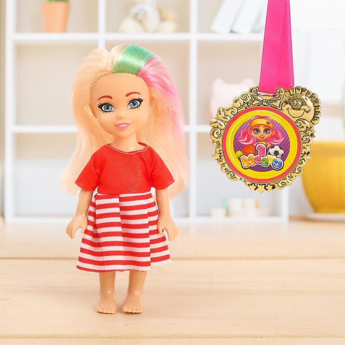 HAPPY VALLEY Подарочный набор: кукла с медалькой