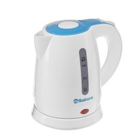 Чайник электрические Sakura SA-2342BL, 1350-1600 Вт, 1 л, пластик Ош