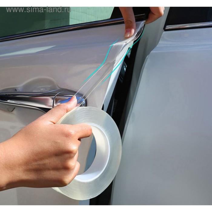 Автомобильная защитная лента TORSO, прозрачная, односторонняя, 3х300 см