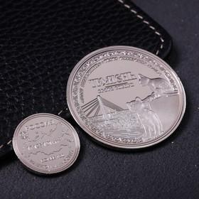 Набор монет подарочный «Тюмень», 9 х 7 см Ош