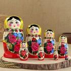 Матрёшка «Семёновская», 8 кукольная, высшая категория