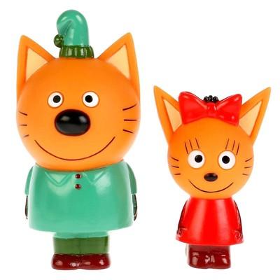 Игрушка для ванны «Три Кота. Карамелька и Компот» - Фото 1