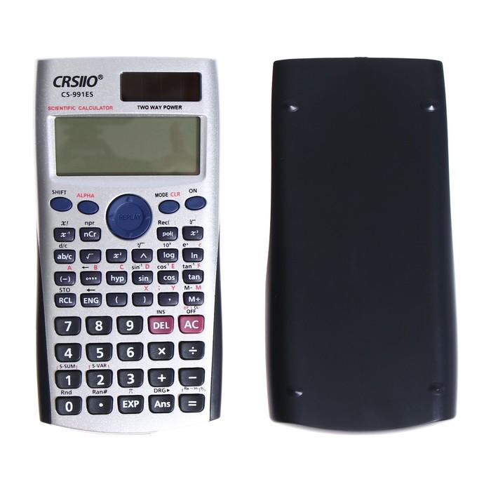 Калькулятор инженерный, 10-разрядный, fx-570ES, двойное питание, двухсточный