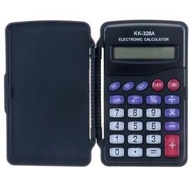 Калькулятор карманный, 8-разрядный, KK-328, с мелодией Ош