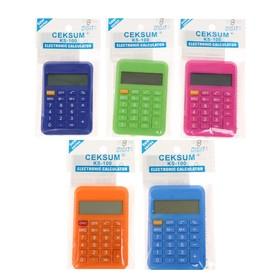 Калькулятор карманный, 8-разрядный, 110, МИКС Ош