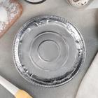 Набор форм для выпечки из фольги, d=24 см, 5 шт - Фото 2
