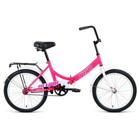 Велосипед 20' Altair City, 2020, цвет розовый/белый, размер 14' Ош