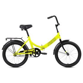 Велосипед 20' Altair City, 2020, цвет светло-зеленый/черный, размер 14' Ош
