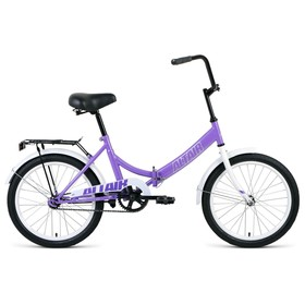 Велосипед 20' Altair City, 2020, цвет фиолетовый/серый, размер 14' Ош
